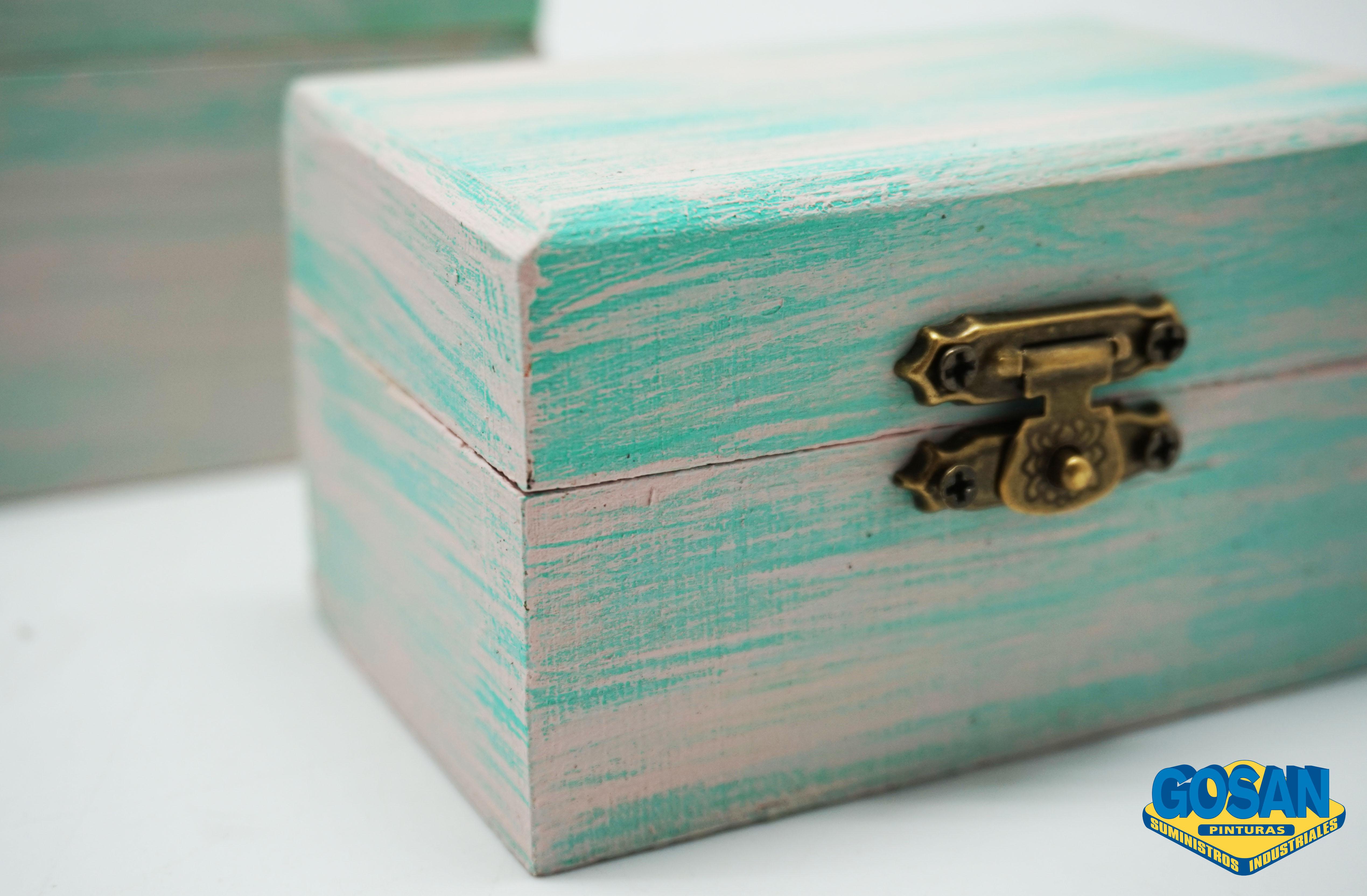Regalar una caja para el dia de la madre pinturas coche - Manualidades con caja de madera ...