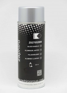 Spray zaphiro aluminio llantas