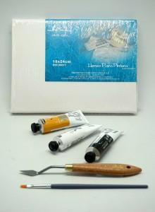 Kit Iniciación Pintura Óleo