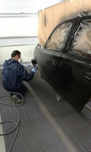Pintar vehiculo