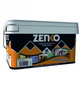 Las cubetas de pintura plástica monocapa Zenko te permite elegir entre más de 25 colores a la carta (click en imágen para ver precio en web)