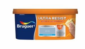 La pintura plástica Bruguer ultraresist repele las manchas y permite limpiarlas fácilmente (click en la imágen para ver precio en web)
