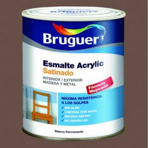 Esmalte acrilico satinado Bruguer para pintar mueble de madera