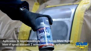 Restauración de faros con spray