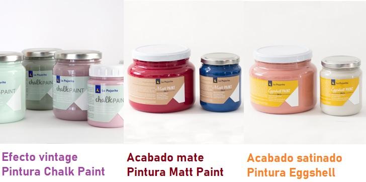 Tipos de pintura y acabados piedras